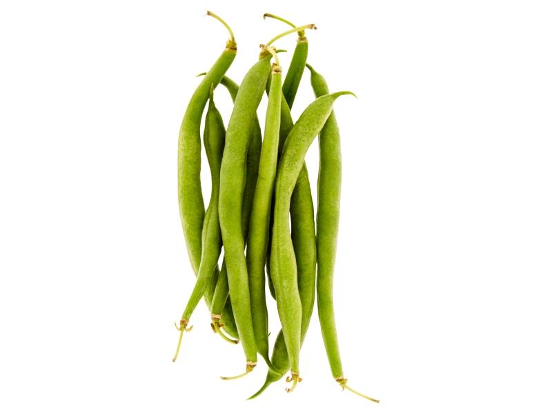 Fazolové lusky kulaté zelené čerstvé 150g