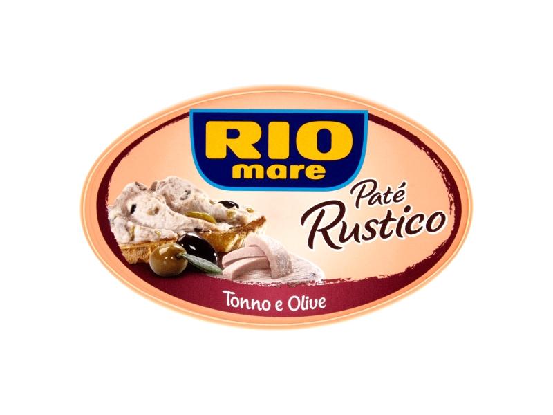 Rio Mare Paté Rustico Tuňákový krém s olivami 115g