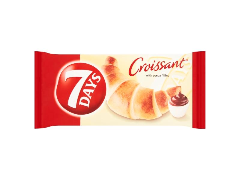 7DAYS Croissant s kakaovou náplní 60g