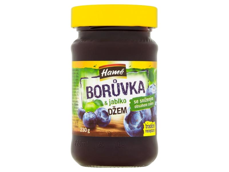 Hamé Borůvka & jablko džem DIA 230g