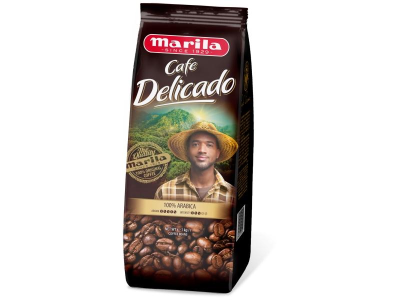 Marila Crema Delicado Pražená zrnková káva 1kg