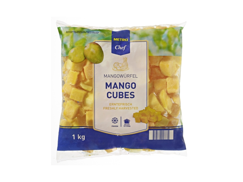 Metro Chef Mango kostky mražené 1kg