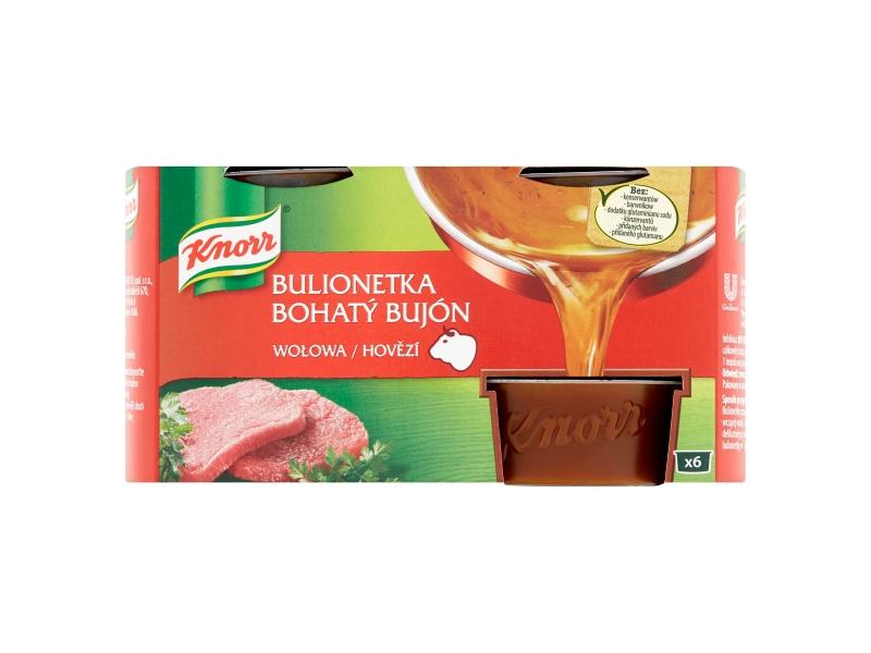 Knorr Bohatý Bujón Hovězí, 6x28g