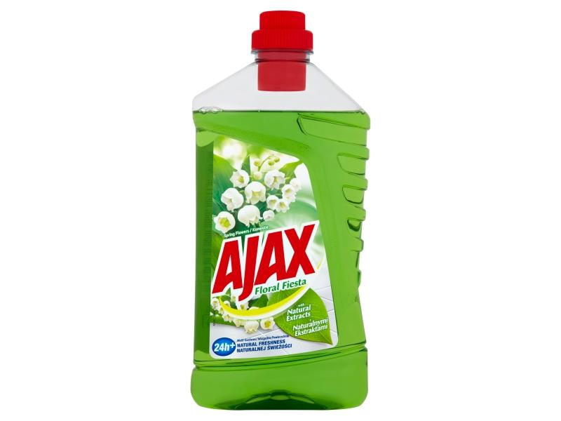 Ajax Flora Fiesta Spring Flowers čistič povrchů pro domácnost 1l