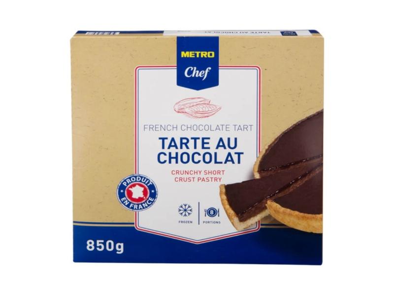Metro Chef Čokoládový koláč mražený 850g