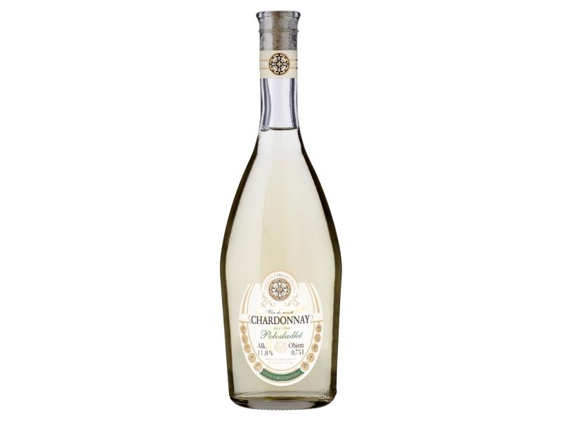 Sollus Chardonnay bílé víno polosladké 0,75l