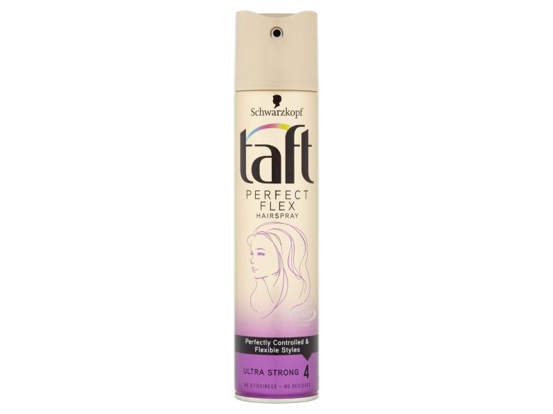 Taft Perfect Flex lak na vlasy Ultra Strong 4 250ml