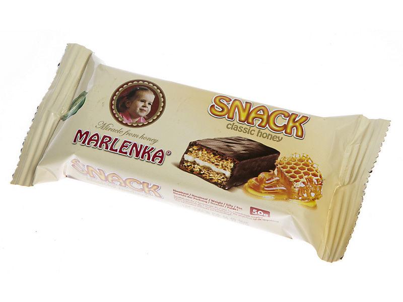 Marlenka Snack medový 50g