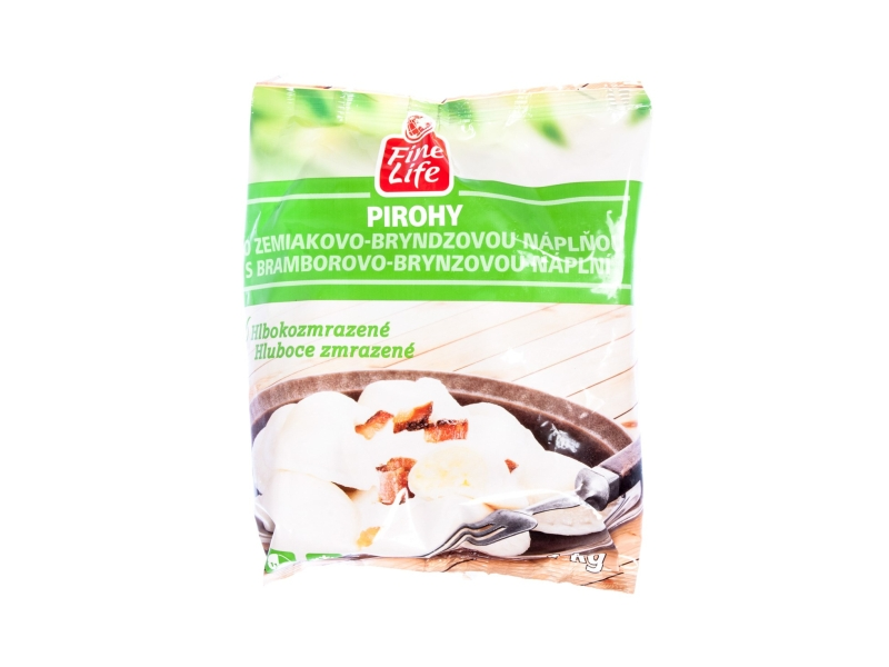 Fine Life Pirohy s bramborovo-brynzovou náplní mraž. 1kg