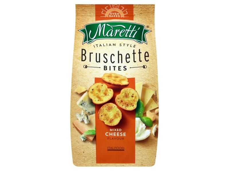 Maretti Bruschetty s příchutí sýrů 70g