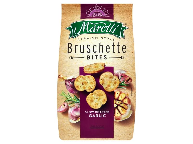 Maretti Bruschetty s příchutí pečeného česneku 70g