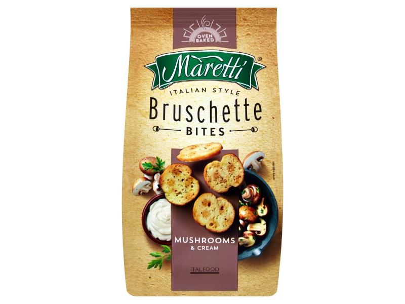 Maretti Bruschetty s příchutí hub a smetany 70g