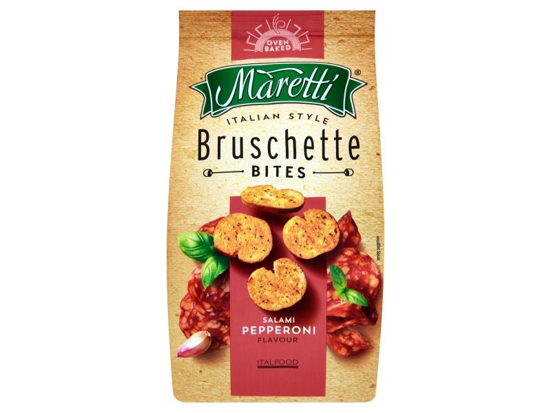 Maretti Bruschetty s příchutí salami pepperoni 70g
