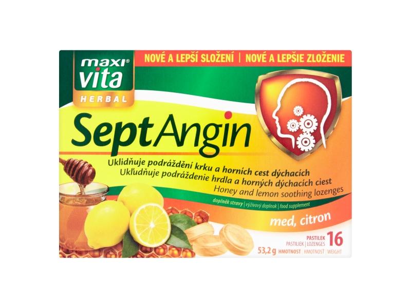 MaxiVita Septangin med&citron 16tablet