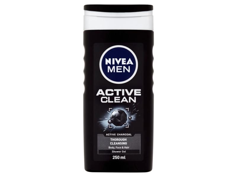 Nivea Men Active Clean Sprchový gel 250ml
