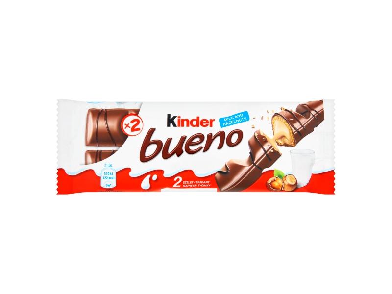 Kinder Bueno Oplatka s čokoládovou polevou 43g
