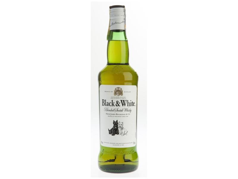 Black & White whisky 40% 700ml