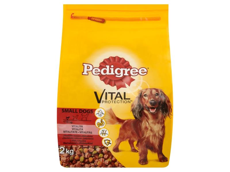 Pedigree Mini Hovězí maso a zelenina granule pro psy 2kg