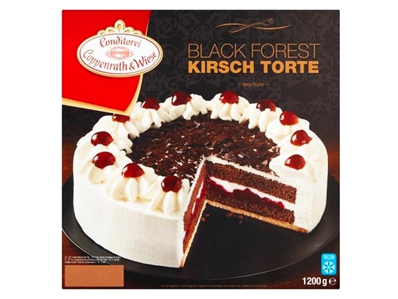 Coppenrath & Wiese Švarcvaldský višňový dort mražený 1200g