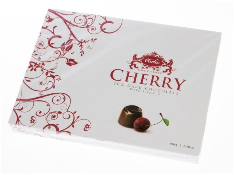 Carla Višně v čokoládě bonboniéra 190g