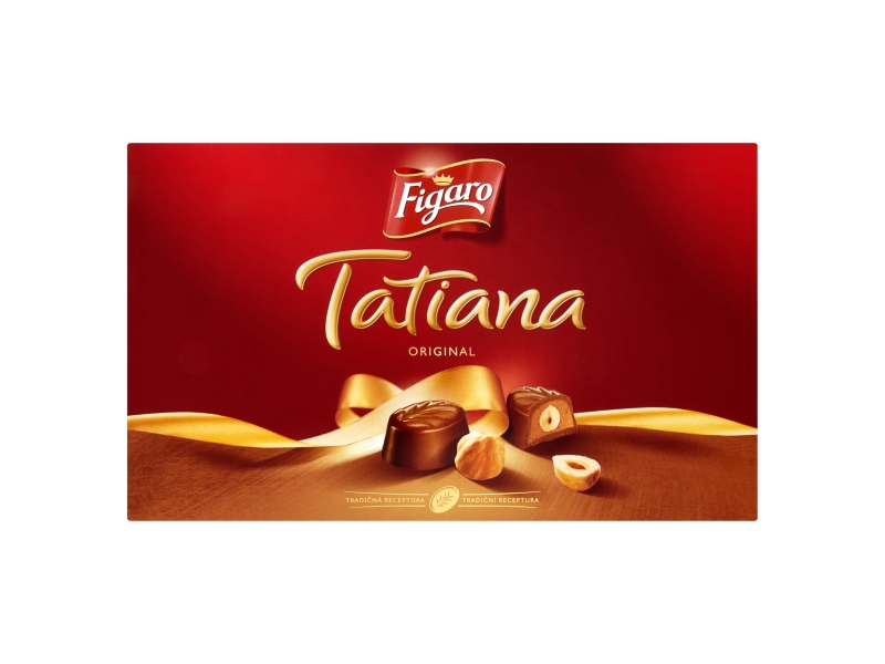 Figaro Tatiana Bonbony s lískooříškovou náplní 140g