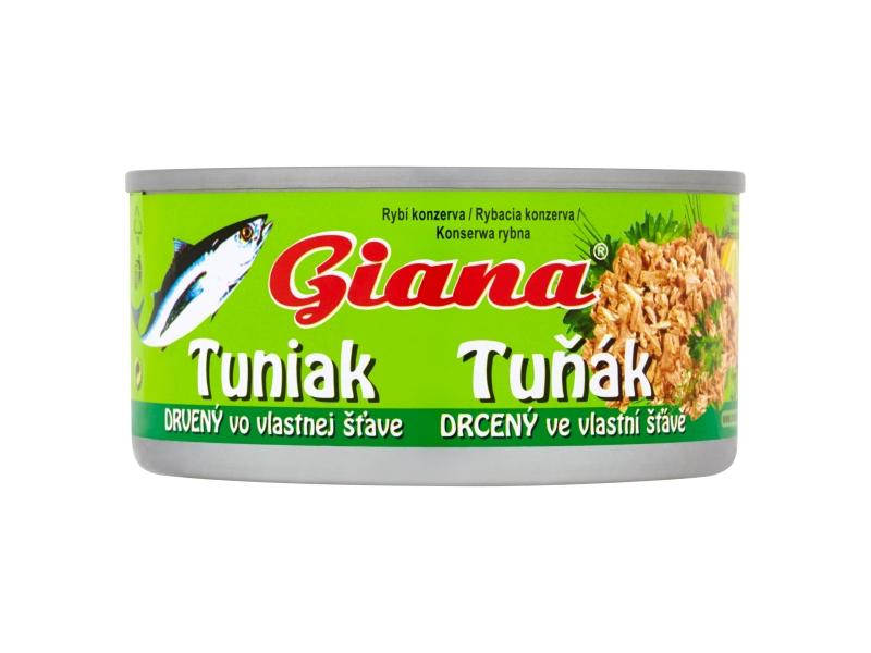 Giana Tuňák ve vlastní šťávě drť 185g