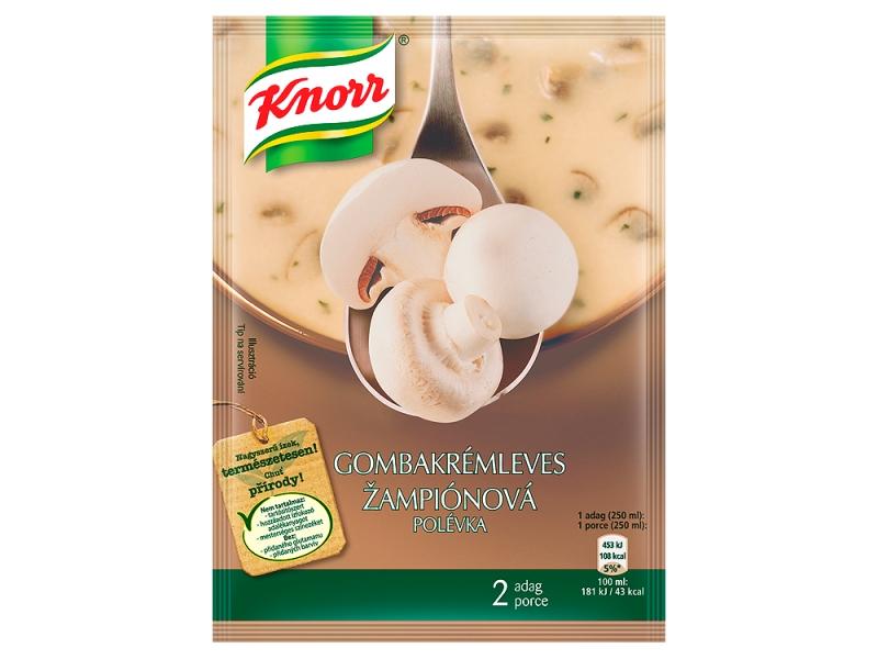 Knorr Krémová žampionová polévka 45g
