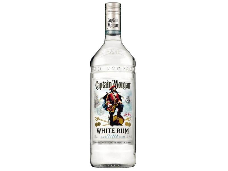 Captain Morgan White Rum 37,5%, 1l