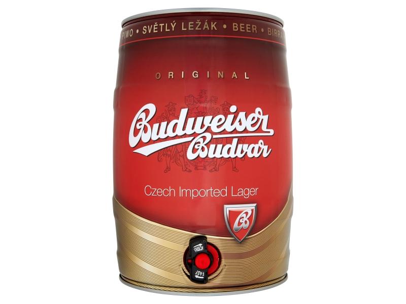 Budweiser Budvar Světlý ležák sud 5l