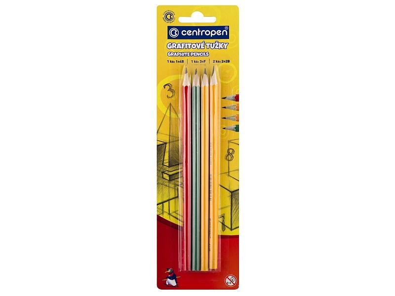 Centropen Tužky grafitové sada 4ks