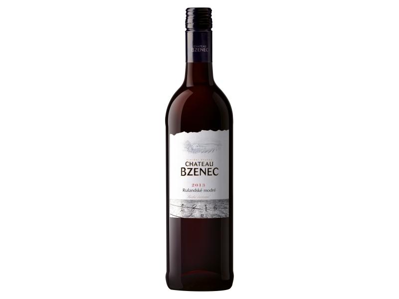 Chateau Bzenec Rulandské modré, suché červené víno 0,75l