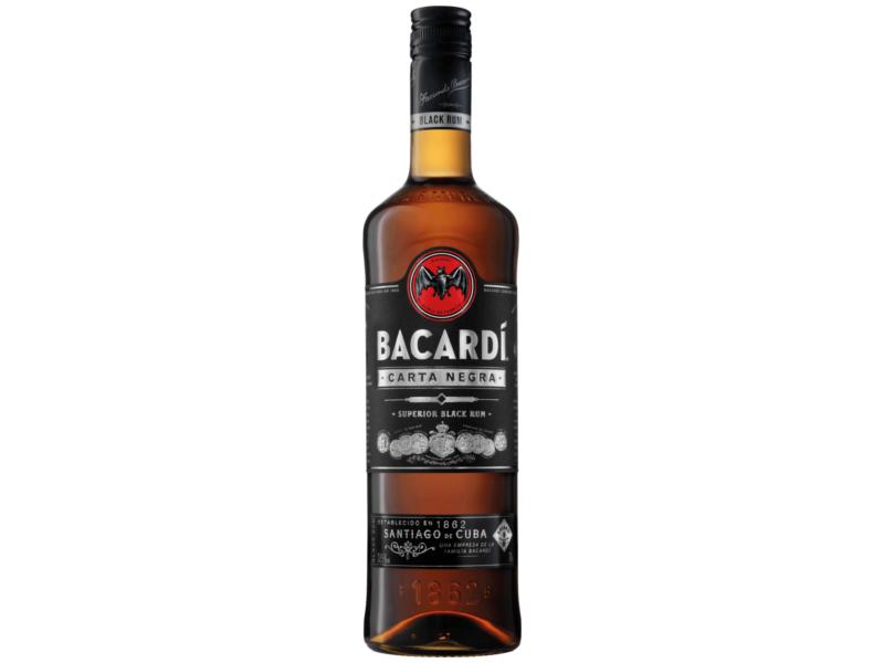 Bacardí Carta Negra Rum 40%, 1l