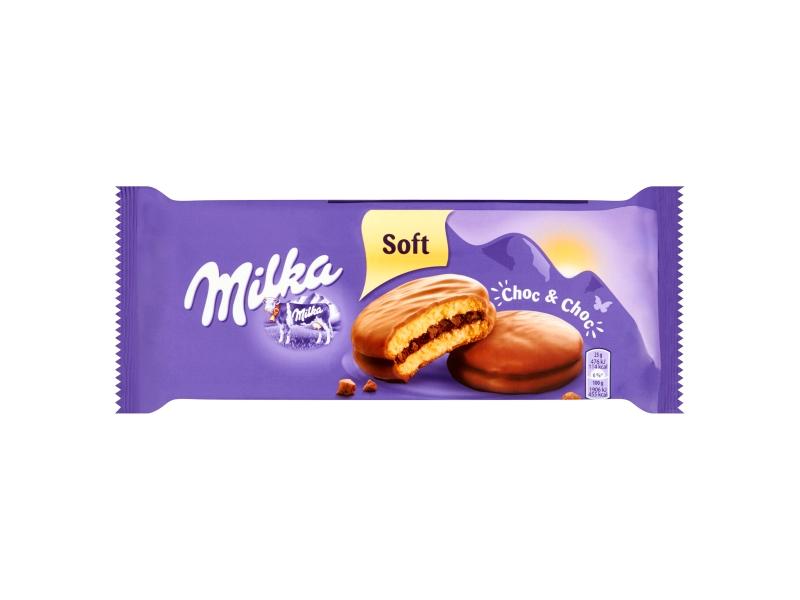 Milka Choc & Choc plněné kakaovou náplní 150g