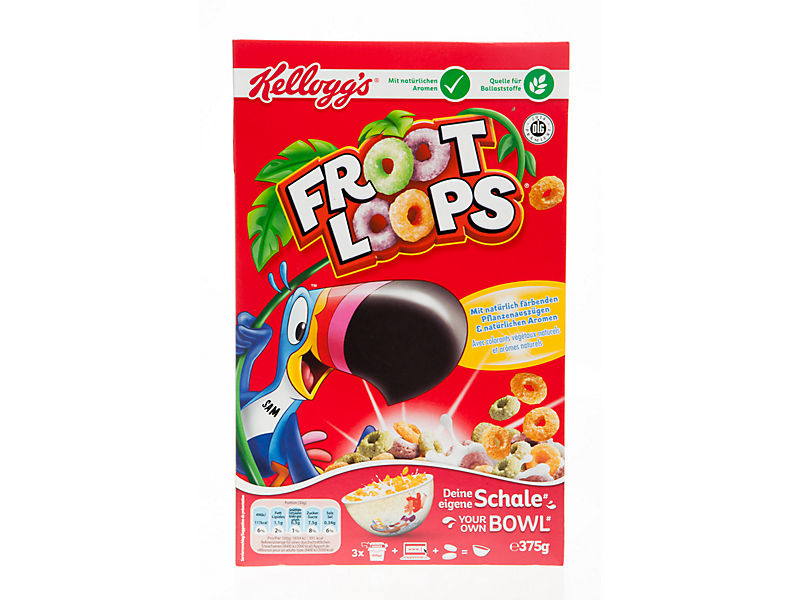 Kellogg´s Froot Loops cereálie 375g