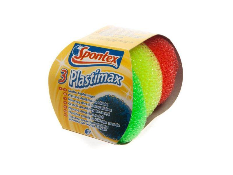 Spontex Plastimax Drátěnka plastová 3ks