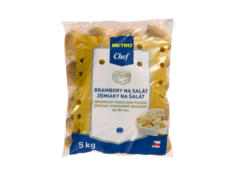 Brambory salátové (typ A) konzumní pozdní 5kg