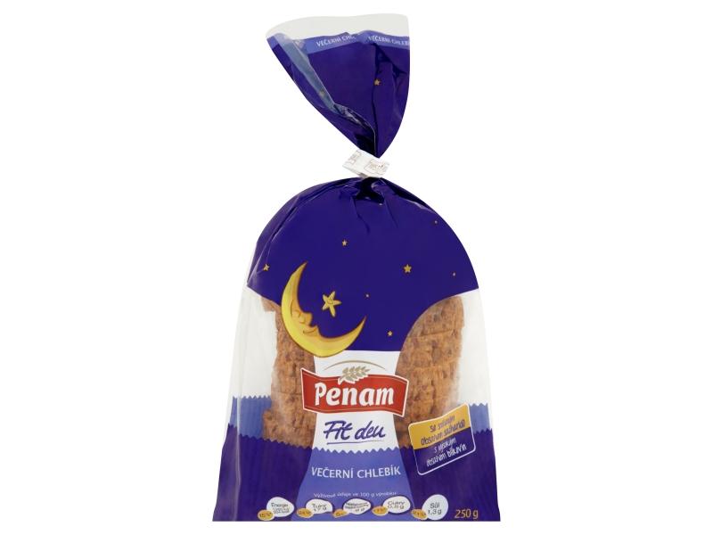 Penam Večerní chlebík balený krájený 250g