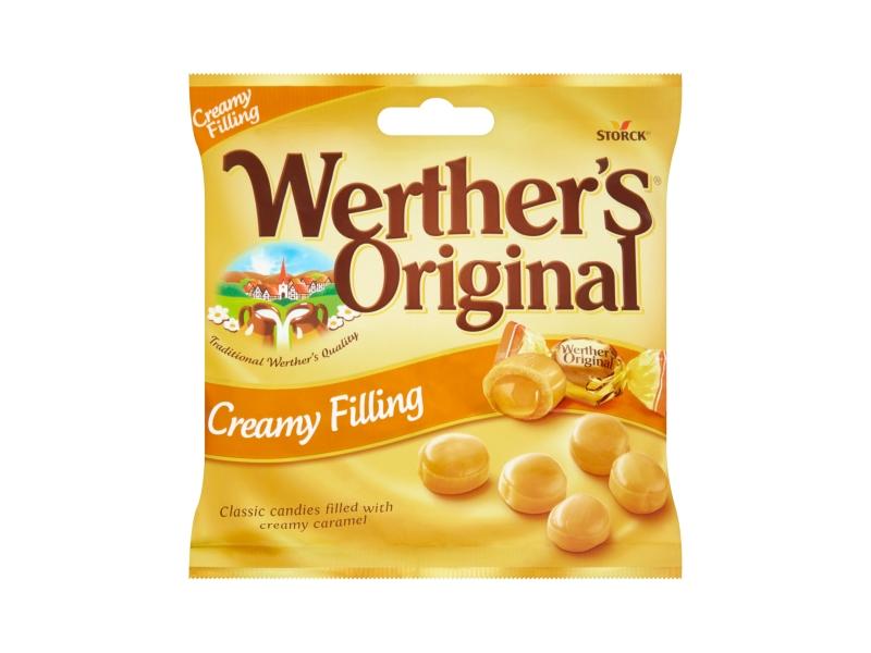Werther´s Original Bonbony s karamelovou náplní 80g