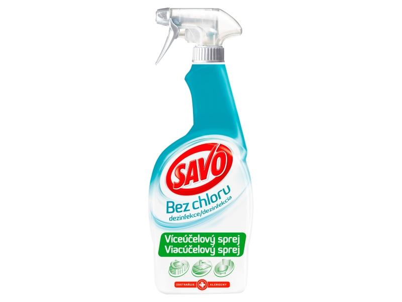 Savo Víceúčelový dezinfekční sprej bez chloru 700ml