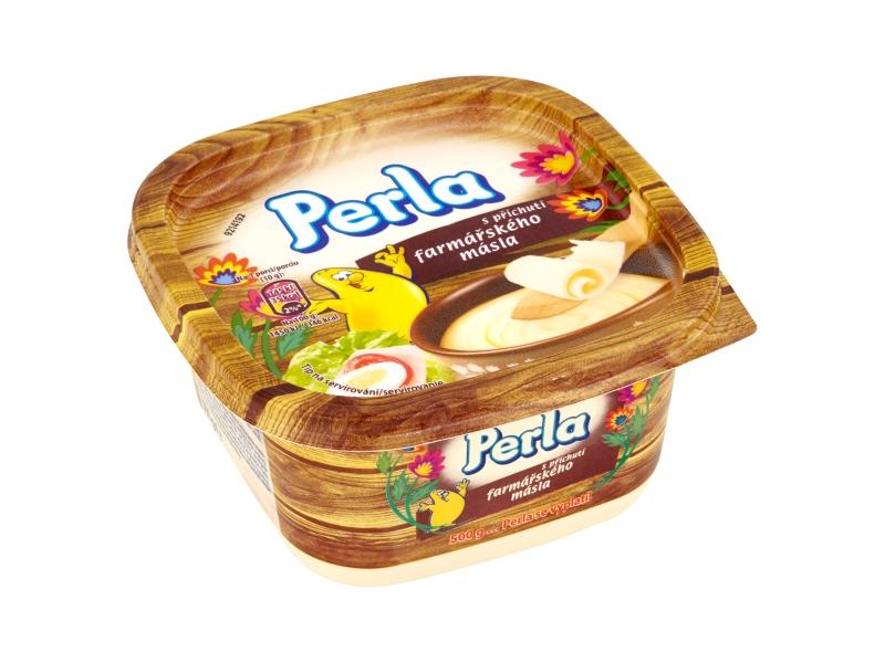 Perla S příchutí farmářského másla 500g