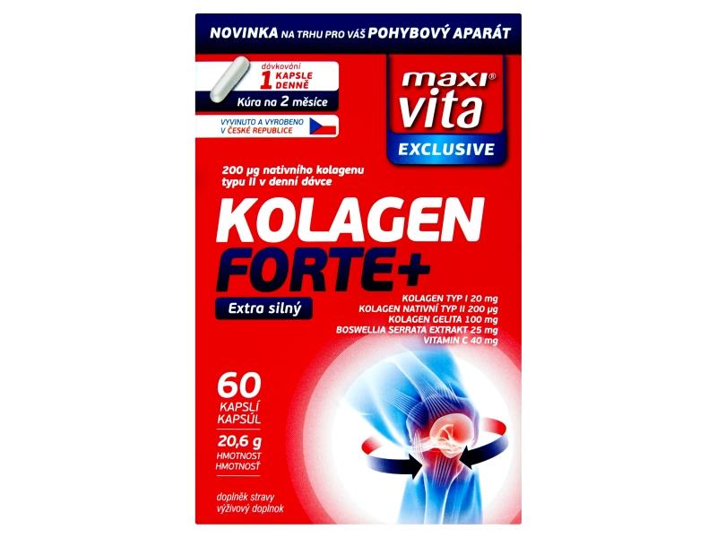 MaxiVita Exclusive Kolagen Forte+ 60ks