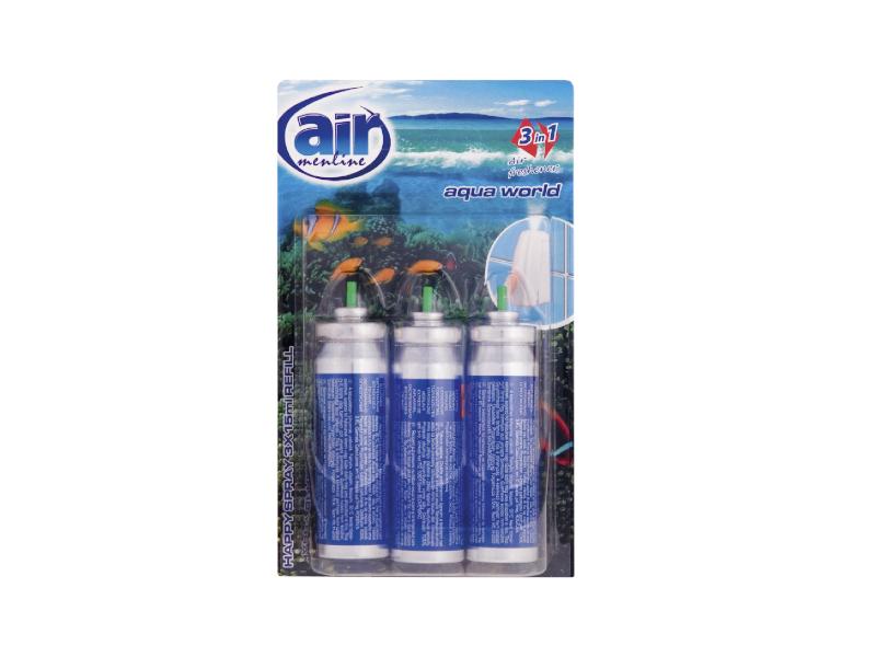 Air menline Aqua World Náplň do osvěžovače 3x15ml