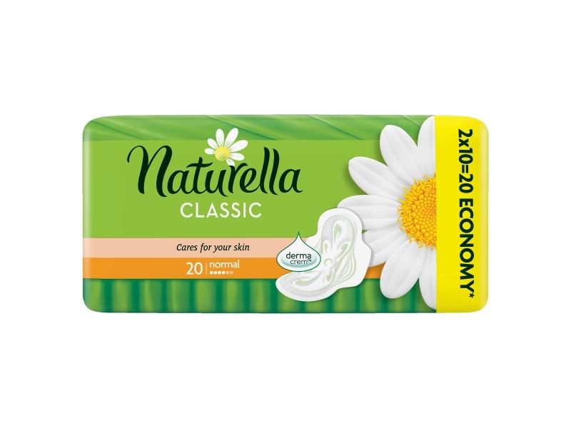 Naturella Classic Camomile Normal Hygienické Vložky 18ks