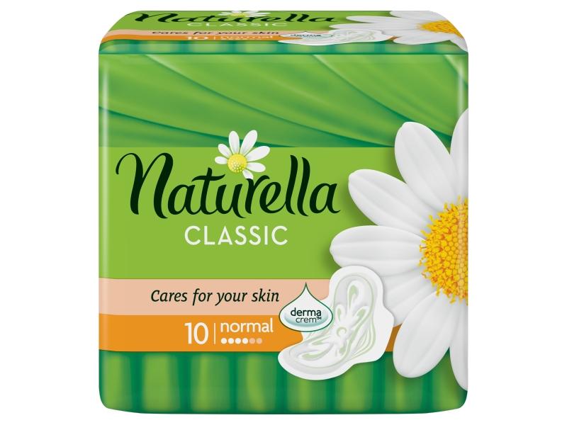 Naturella Classic Camomile Normal Hygienické Vložky 10ks
