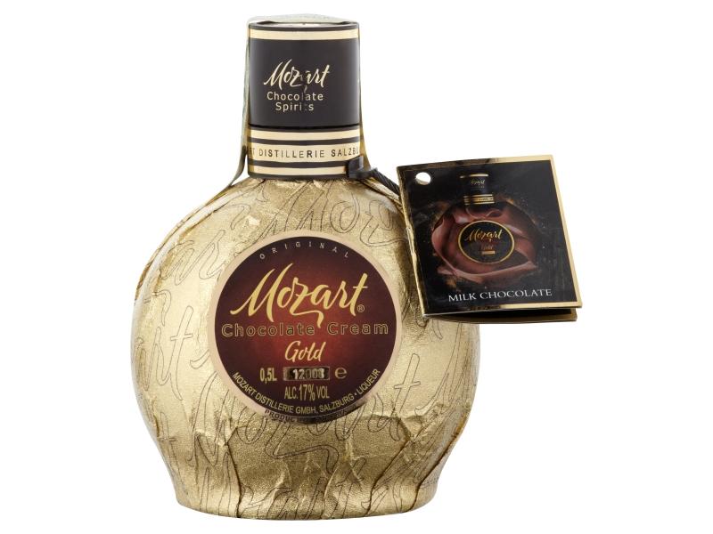 Mozart Chocolate Cream likér 17% 500ml