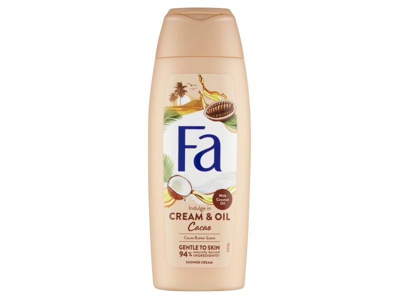 Fa Cream & Oil Sprchový krém kakaové máslo s kokosovým olejem 250ml