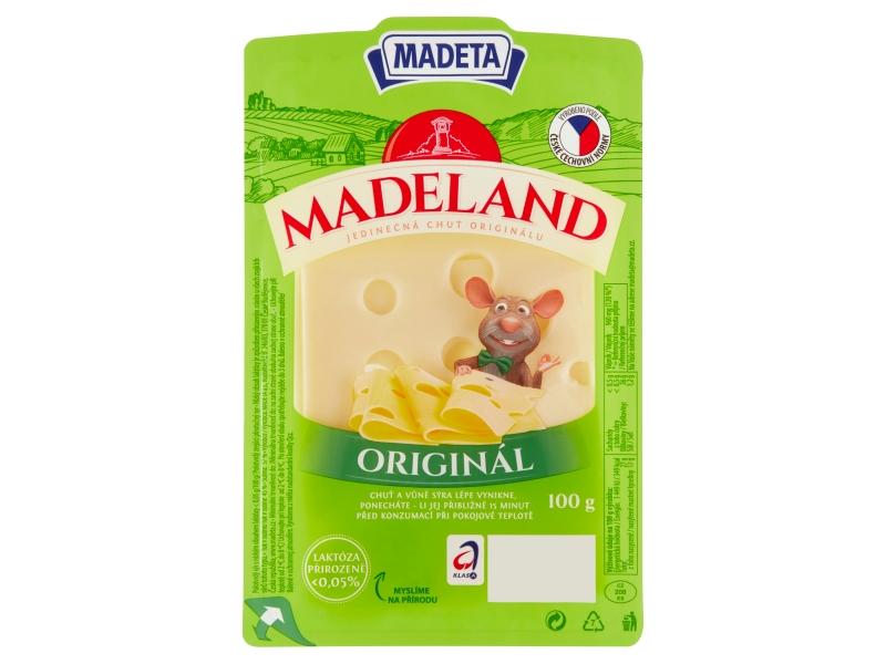 Madeta Madeland originál plátky 100g