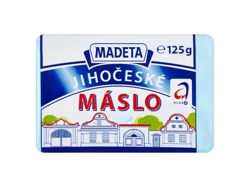 Madeta Jihočeské mini máslo 125g