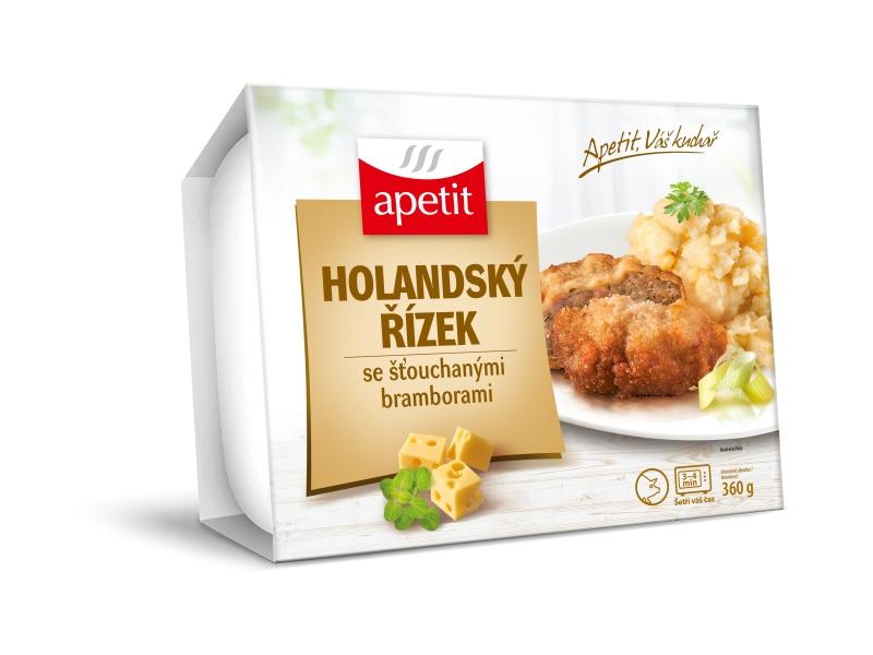 Apetit Holandský řízek se šťouchanými brambory 360g