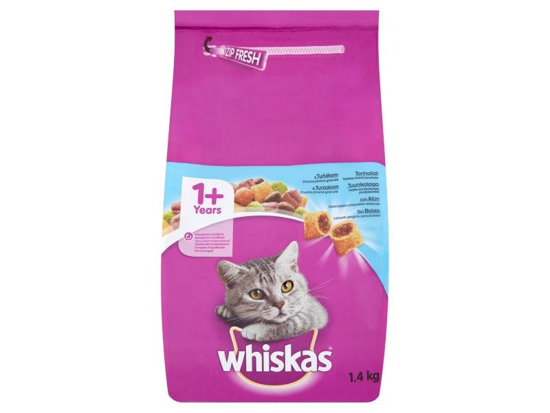 Whiskas Kompletní krmivo pro dospělé kočky s tuňákem 1,4kg